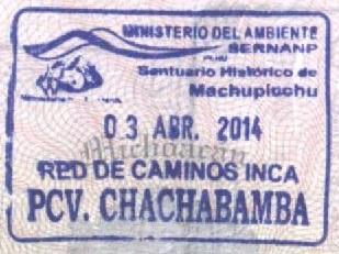 Sello Turístico del Camino del Inca (Cortesía: Gato Cósmico)