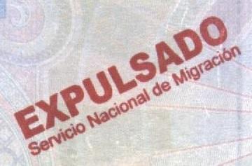 Sello de deportación - Panamá (Cortesía: Gato Cósmico)