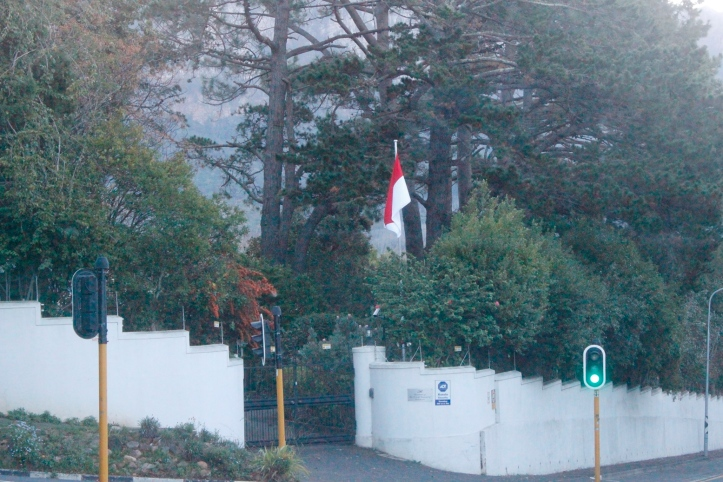 Consulado de Indonesia en Ciudad del Cabo, Sudáfrica / Indonesian Coonsulate in Cape Town, South Africa / Por: Blog de Banderas