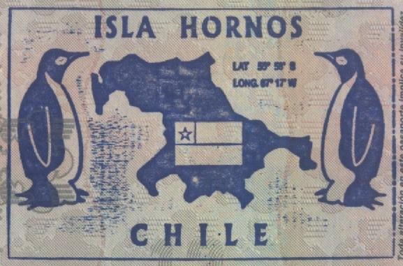 Sello Turístico de la Isla Hornos, Chile (Cortesía: Gato Cósmico)