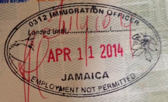 Inmigración Jamaica (Cortesía: Pierre Thirion)