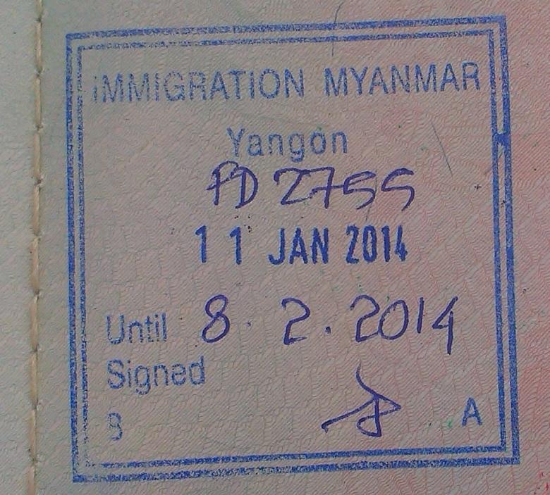 Aeropuerto Internacional de Rangún, Myanmar (Cortesía José Carlos Contreras)