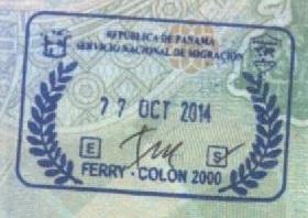 Inmigración - Puerto de Colón, Panamá (Cortesía: Gato Cósmico)