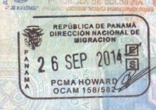Inmigración - Aeropuerto Howard, Panamá (Cortesía: Gato Cósmico)
