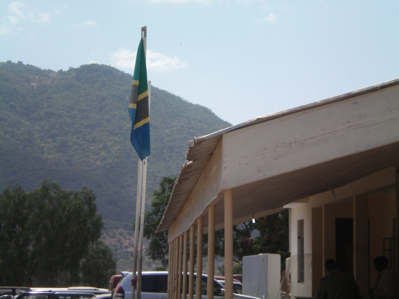 Bandera de Tanzania - Namanga, Tanzania