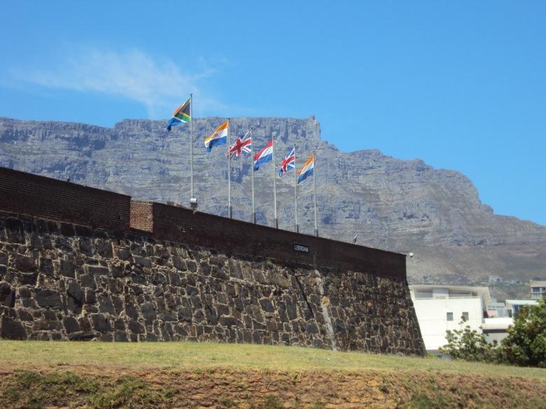 Bandera de Sudáfrica - Ciudad del Cabo, Sudáfrica