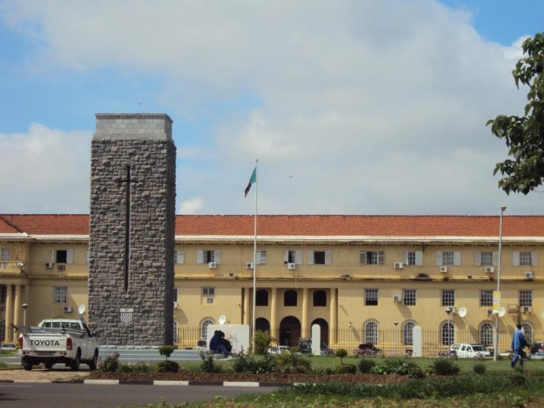 Bandera de Zambia - Lusaka, Zambia