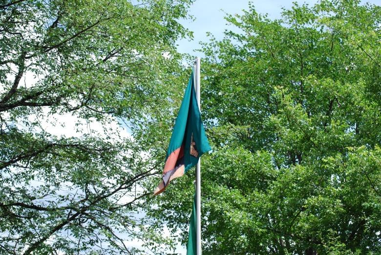 Bandera de Zambia - Livingstone, Zambia