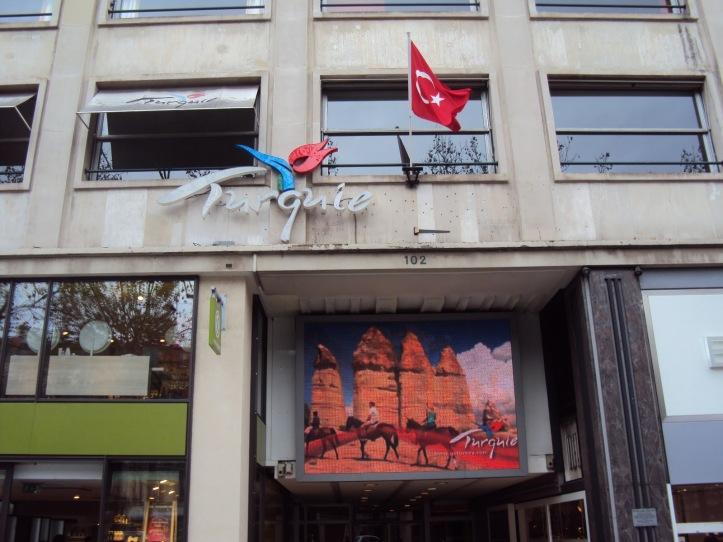 Bandera de Turquía - París, Francia