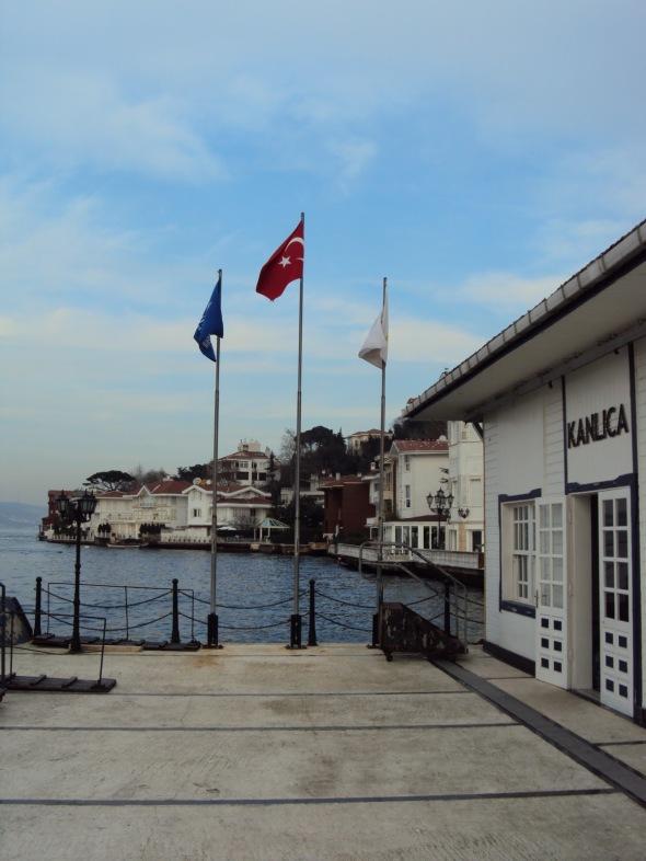 Bandera de Turquía - Estambul, Turquía