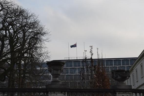 Embajada de Australia - Bruselas, Bélgica / Embassy of Australia - Brussels, Belgium / Por: Blog de Banderas