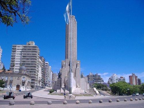 BANDERA MONUMENTO ROS