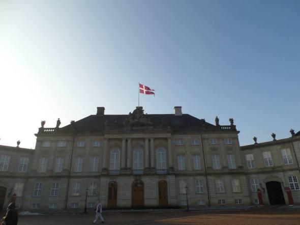 Palacio Amalienborg - Copenague, Dinamarca / Amalienborg Palace - Copenhaguen, Denmark / Por: Fernando Olmos Galleguillos