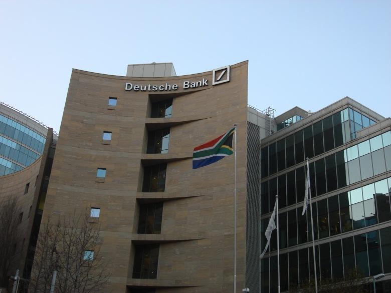 Bandera de Sudáfrica - Sandton, Sudáfrica