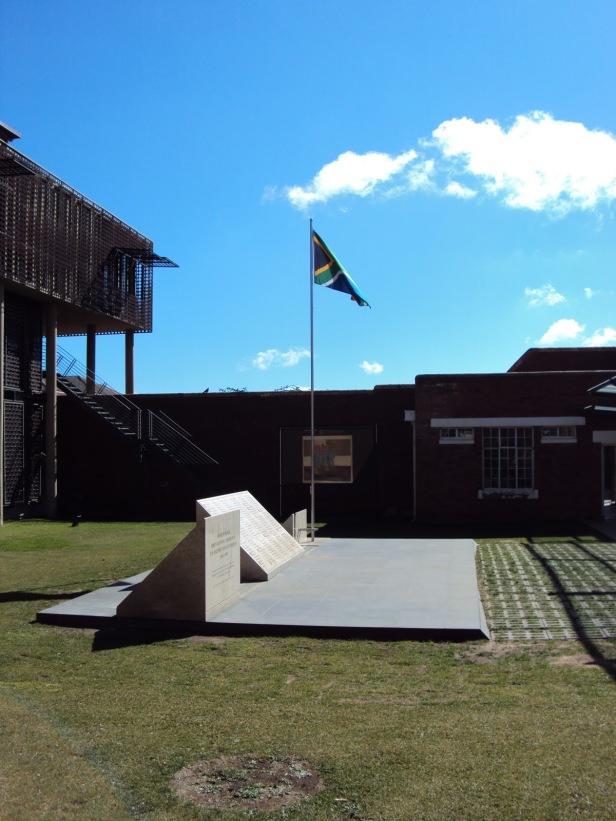 Bandera de Sudáfrica - Johannesburgo, Sudáfrica