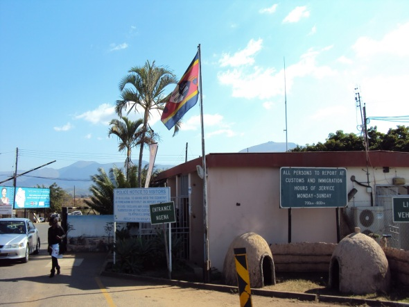 Bandera de Swazilandia - Matsamo, Swazilandia