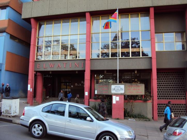 Bandera de Swazilandia - Mbabane, Swazilandia
