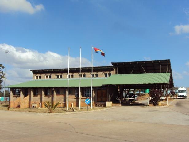Bandera de Swazilandia - Lomahasha, Swazilandia