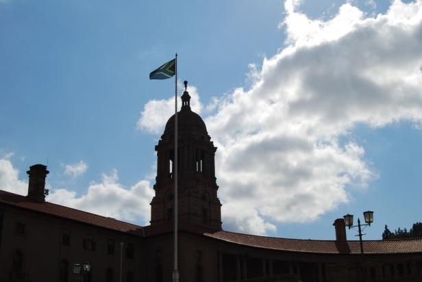 Bandera de Sudáfrica - Pretoria, Sudáfrica