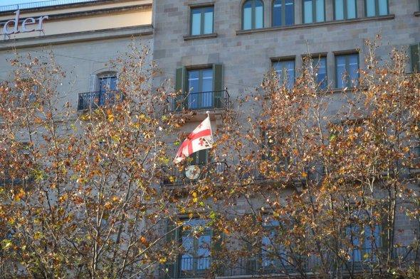 Consulado de Georgia - Barcelona, España / Georgian Consulate - Barcelona, Spain / Por: Blog de Banderas
