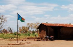 Bandera de Sudán del Sur - Juba, Sudán del Sur