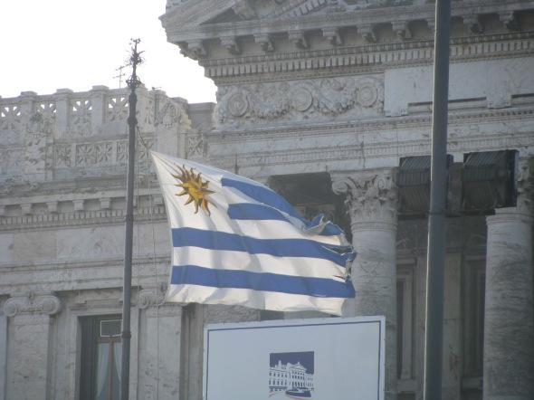 Bandera de Uruguay - Montevideo, Uruguay