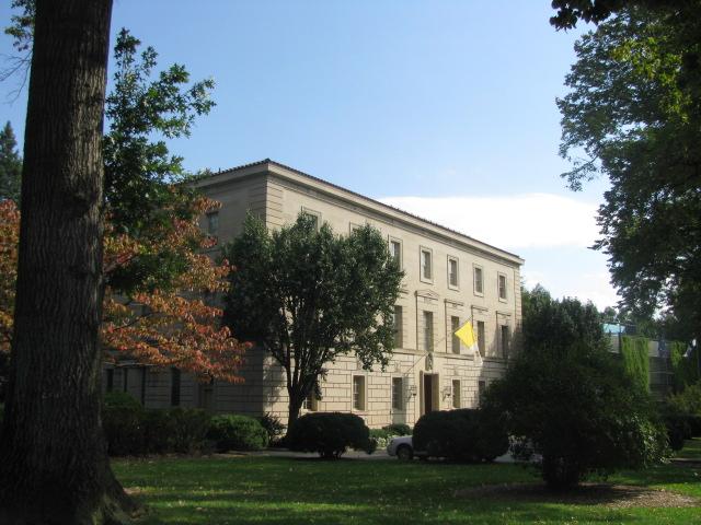 Bandera del Vaticano - Washington, Estados Unidos