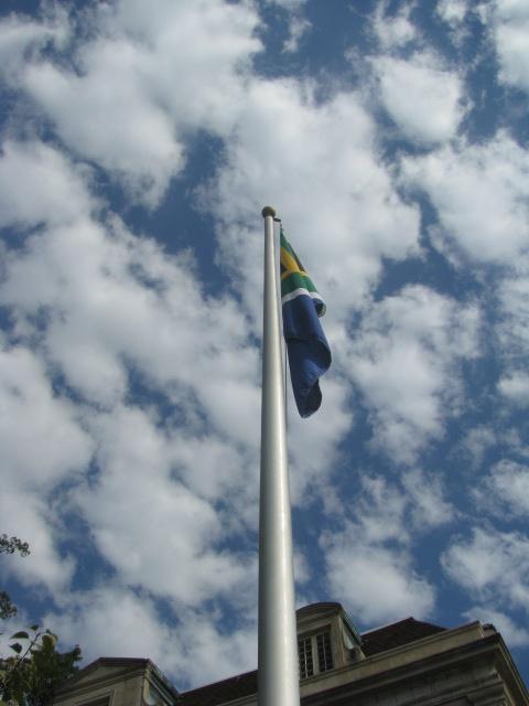 Bandera de Sudáfrica - Washington, Estados Unidos