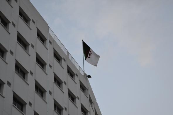 Plaza de la Grande Poste - Argel, Argelia / Grande Poste Square - Algiers, Algeria / Por: Blog de Banderas