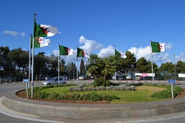 Monumento a los Mártires - Argel, Argelia / Martyrs Monument - Algiers, Algeria / Por: Blog de Banderas