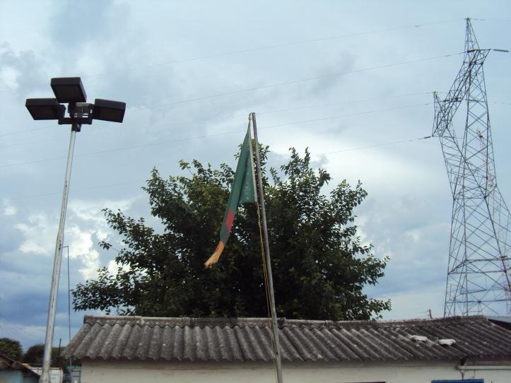 Bandera de Zambia - Kazungula, Zambia