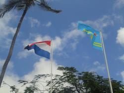 Bandera de Países Bajos - Oranjestad, Aruba
