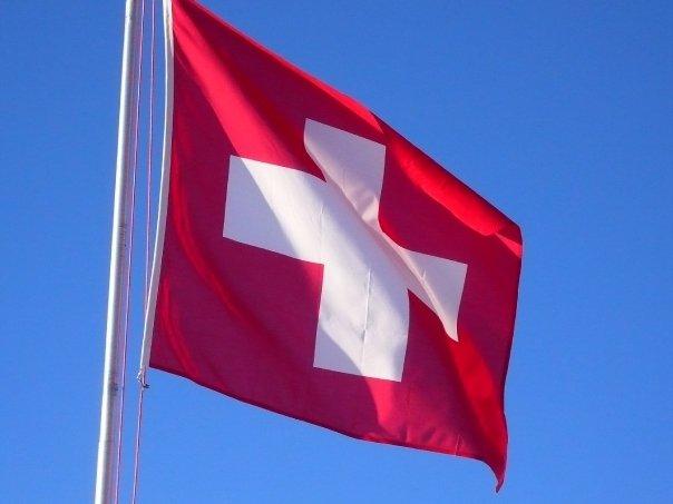Bandera de Suiza - Zürich, Suiza