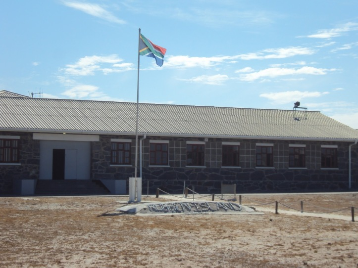 Banderas en la Historia: Robben Island, Sudáfrica