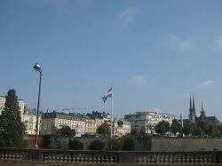 Bandera de Luxemburgo - Luxemburgo, Luxemburgo