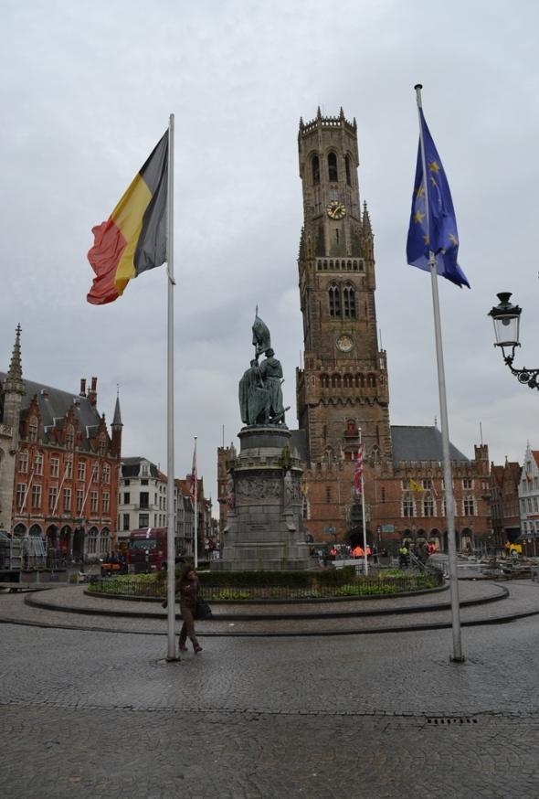 Brujas, Bélgica / Brugge, Belgium / Por: Blog de Banderas