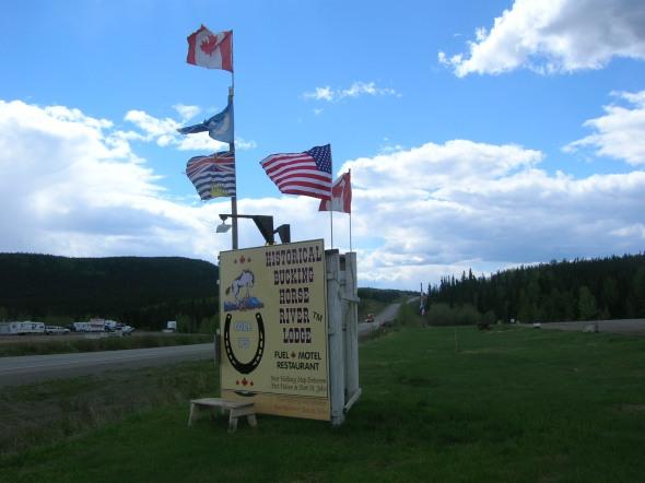 Carretera a Yukon, CANADA
