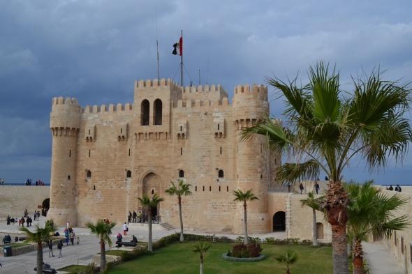 Fortaleza de Qaitbay - Alejandría, Egipto / Qaitbay Fortress - Alexandria, Egypt / Por: Blog de Banderas