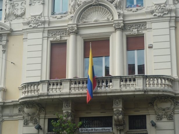 Embajada de Colombia en Roma, Italia / Embassy of Colombia in Rome, Italy / Por: Catalina Suárez (Colombia)