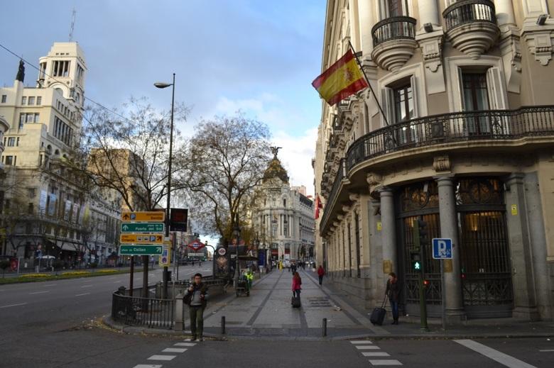 Madrid, España / Madrid, Spain / Por: Blog de Banderas
