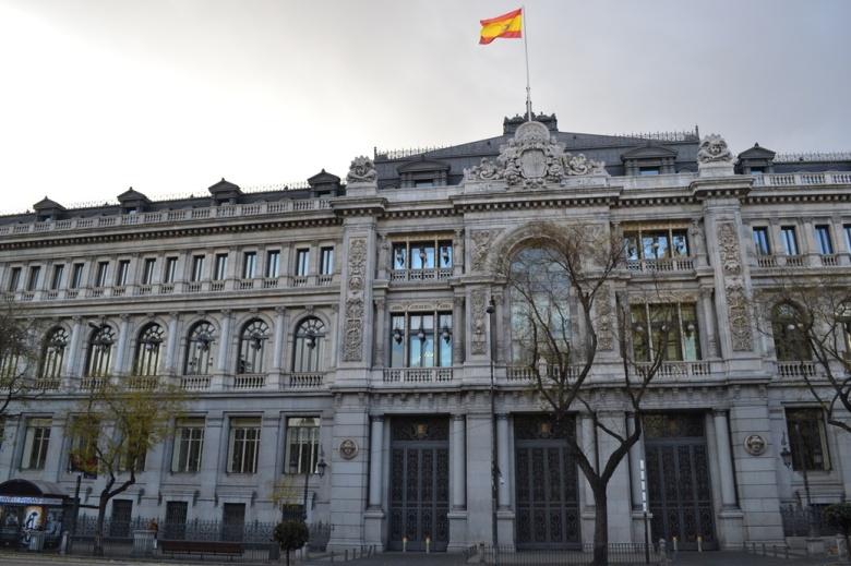 Banco de España - Madrid, España / Bank of Spain - Madrid, Spain / Por: Blog de Banderas