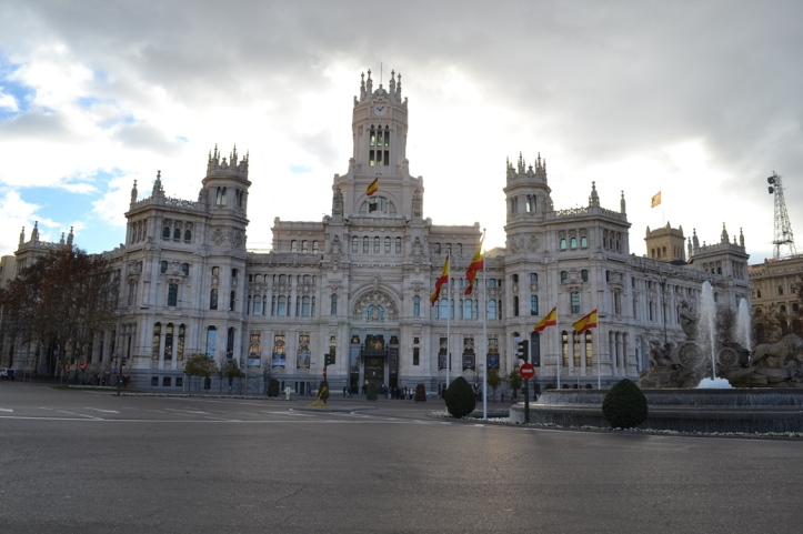 Cibeles - Madrid, España / Cibeles  - Madrid, Spain / Por: Blog de Banderas