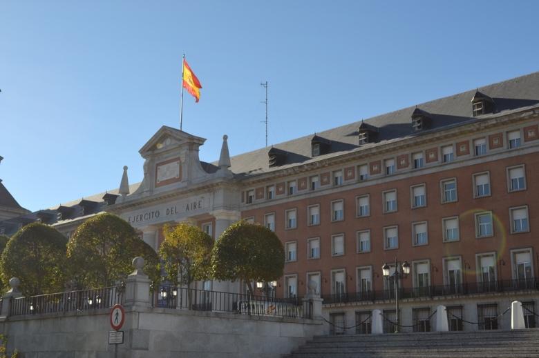 Ejército del Aire - Madrid, España / Air Army - Madrid, Spain / Por: Blog de Banderas