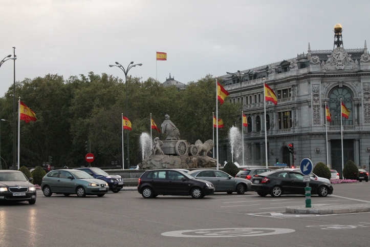 Plaza Cibeles - Madrid, España / Cibeles Square - Madrid, Spain / Por: Coke González