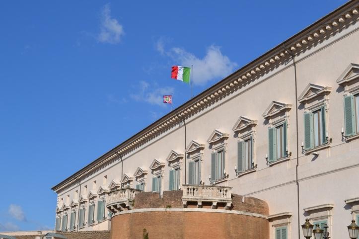Palacio del Quirinal - Roma, Italia / Quirinal Palace - Rome, Italy / Por: Blog de Banderas