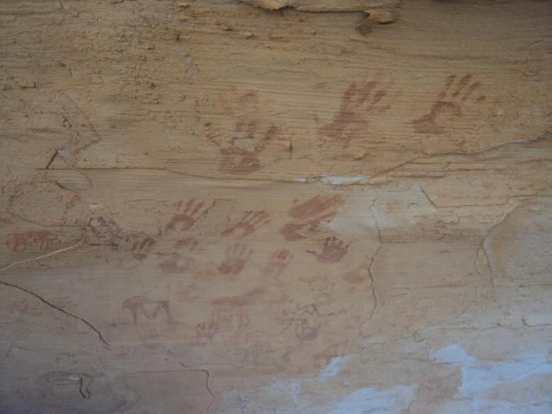 Pinturas rupestres en Erqueyez