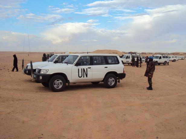 Personal de la Misión de la ONU para el Referendo en el Sahara Occidental (MINURSO)
