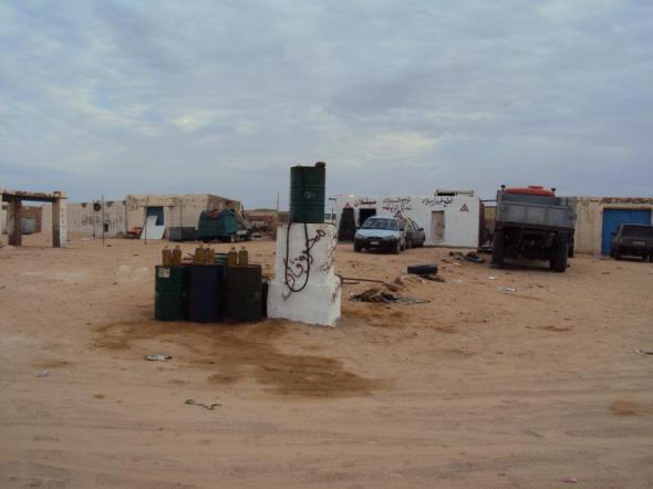 Bomba de Gasolina en el Campamento de Refugiados de Tindouf