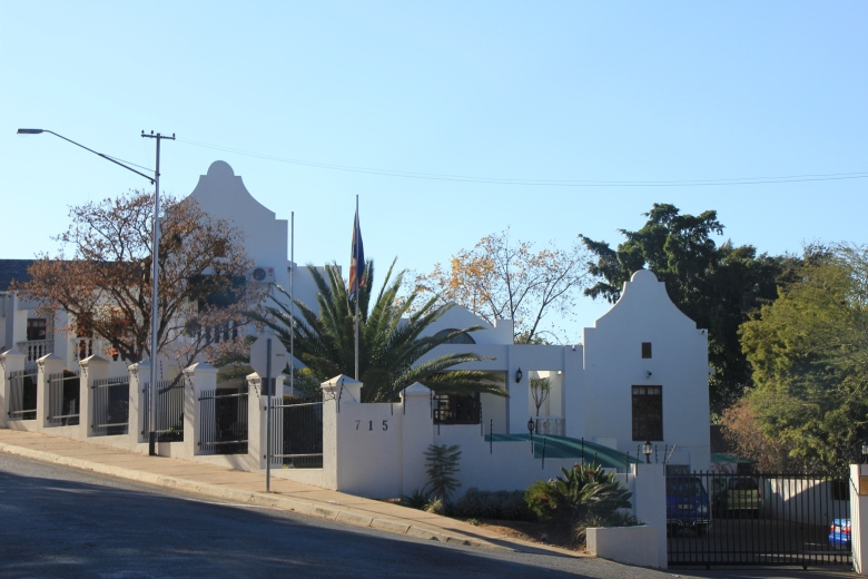 Embajada de Swazilandia en Pretoria, Sudáfrica / Embassy of Swaziland in Pretoria, South Africa / Por: Blog de Banderas