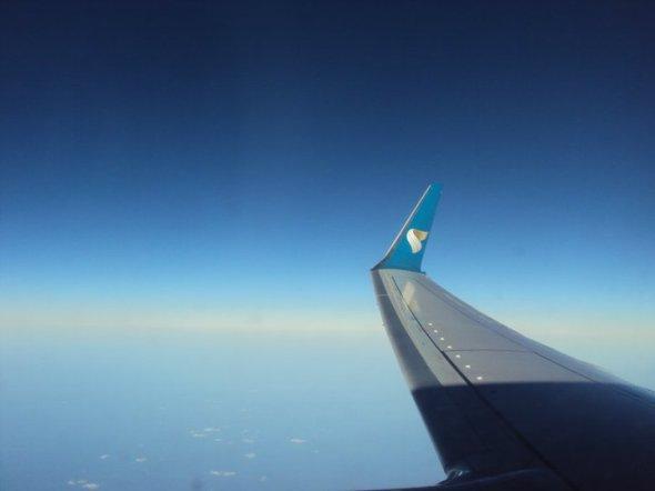 Avión de Oman Air en algún del Índico entre Mumbai y Mascate
